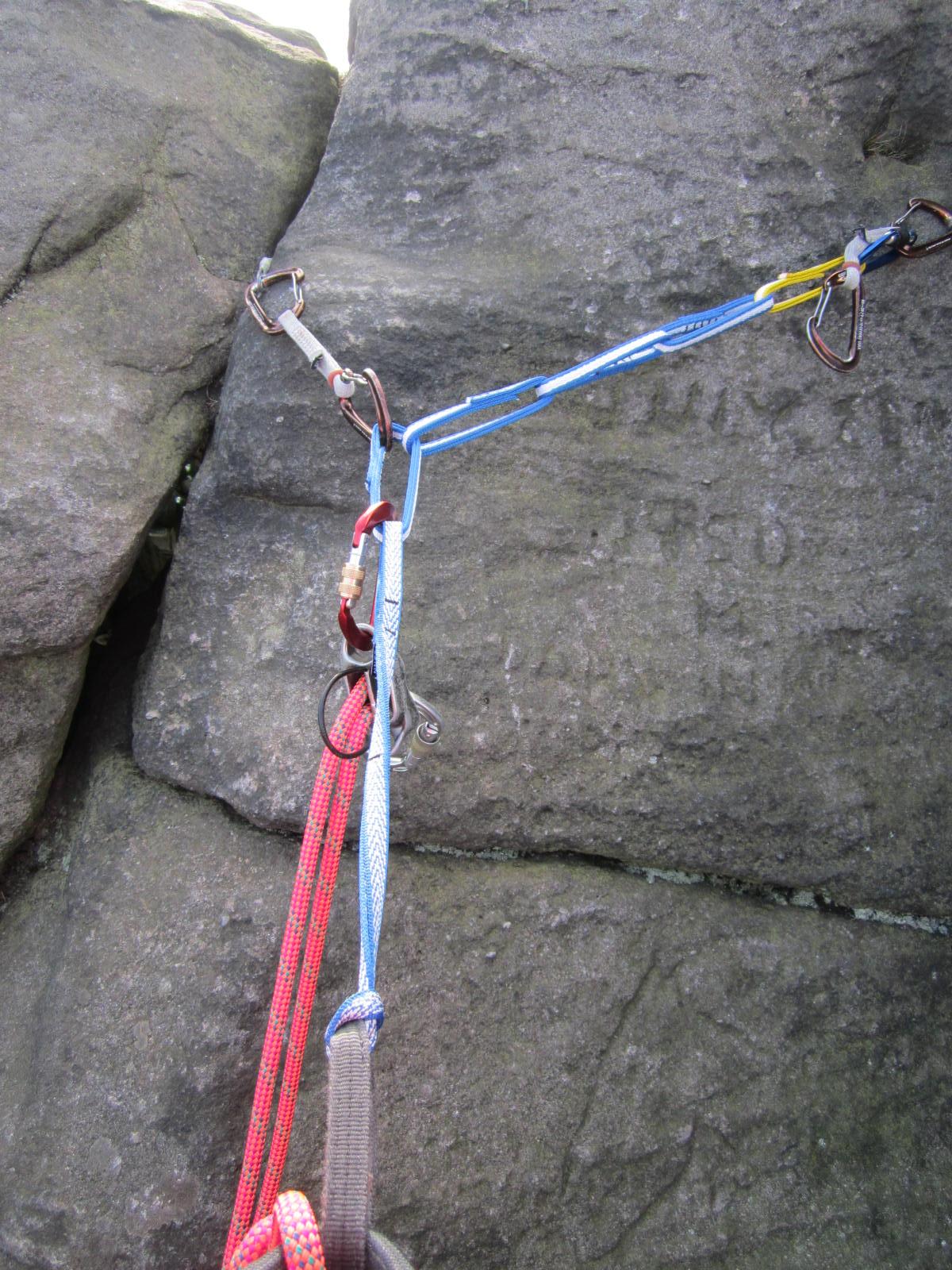 Rock Climbing Anchor Trap Jive Ass Anchors