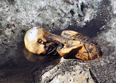 Ötzi the Iceman (photo: Wikicommons)